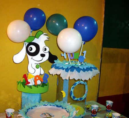 Fiestas infantiles: decoración de Doki | Web Del Bebé