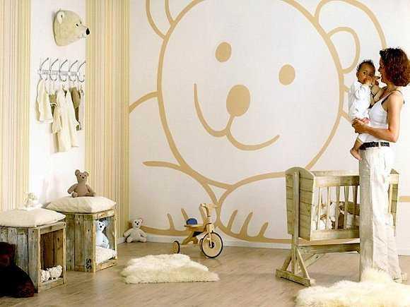 deco-hogar] Decoración de cuartos de bebes con vinilos   Portalnet.cl